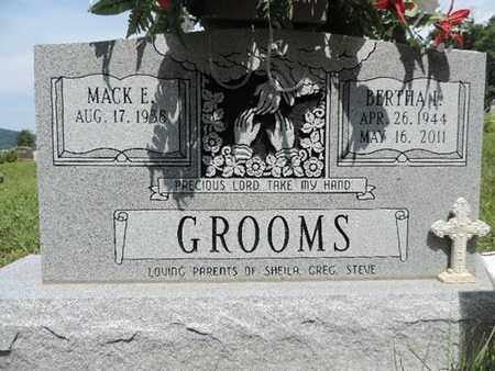 GROOMS, BERTHA I. - Pike County, Ohio | BERTHA I. GROOMS - Ohio Gravestone Photos
