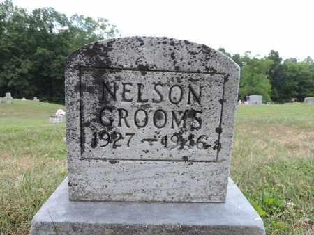 GROOMS, NELSON - Pike County, Ohio | NELSON GROOMS - Ohio Gravestone Photos
