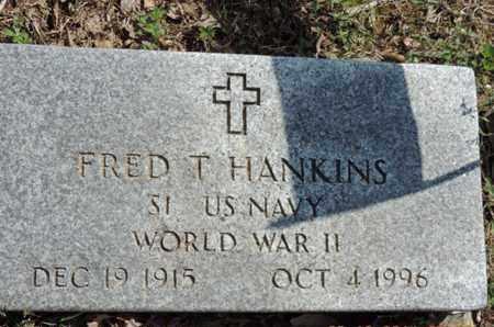 HANKINS, FRED T. - Pike County, Ohio | FRED T. HANKINS - Ohio Gravestone Photos