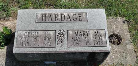 HARDAGE, MARY M. - Pike County, Ohio   MARY M. HARDAGE - Ohio Gravestone Photos
