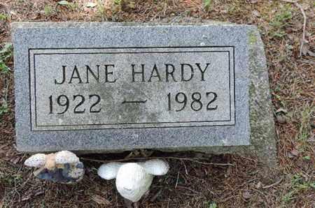 HARDY, JANE - Pike County, Ohio | JANE HARDY - Ohio Gravestone Photos