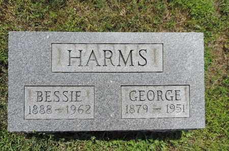HARMS, BESSIE - Pike County, Ohio   BESSIE HARMS - Ohio Gravestone Photos