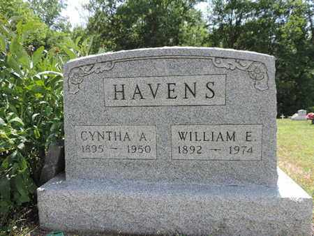 HAVENS, CYNTHA A. - Pike County, Ohio | CYNTHA A. HAVENS - Ohio Gravestone Photos