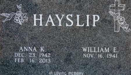 HAYSLIP, ANNA K - Pike County, Ohio   ANNA K HAYSLIP - Ohio Gravestone Photos