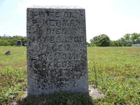 HERMAN, CLARIE B. - Pike County, Ohio   CLARIE B. HERMAN - Ohio Gravestone Photos