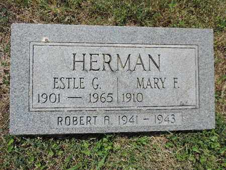 HERMAN, ESTLE G. - Pike County, Ohio | ESTLE G. HERMAN - Ohio Gravestone Photos