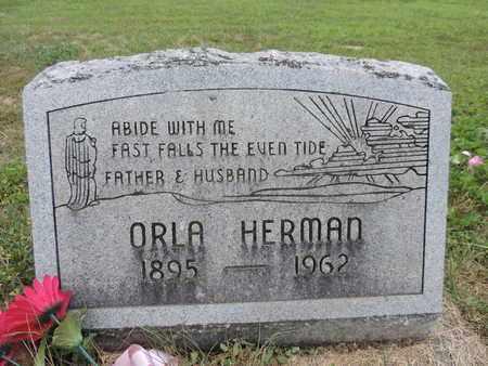 HERMAN, ORLA - Pike County, Ohio | ORLA HERMAN - Ohio Gravestone Photos