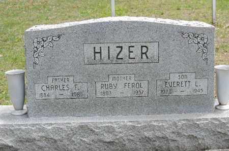 HIZER, RUBY FEROL. - Pike County, Ohio | RUBY FEROL. HIZER - Ohio Gravestone Photos