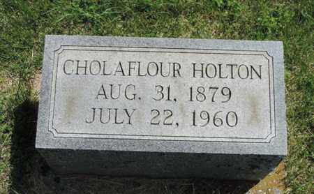 HOLTON, CHOLAFLOUR - Pike County, Ohio | CHOLAFLOUR HOLTON - Ohio Gravestone Photos