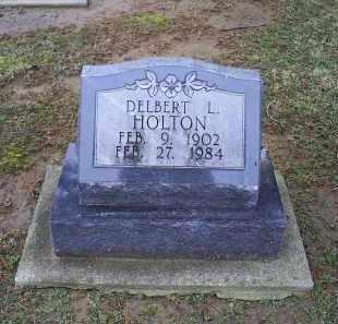 HOLTON, DELBERT L. - Pike County, Ohio | DELBERT L. HOLTON - Ohio Gravestone Photos