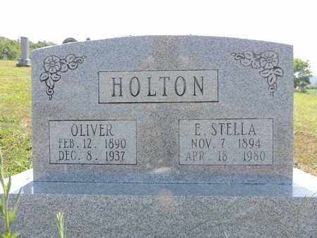 HOLTON, E. STELLA - Pike County, Ohio | E. STELLA HOLTON - Ohio Gravestone Photos