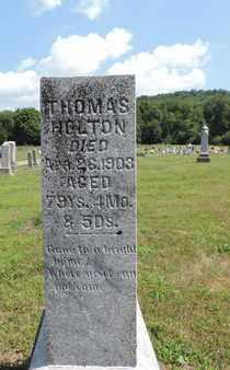 HOLTON, THOMAS - Pike County, Ohio | THOMAS HOLTON - Ohio Gravestone Photos