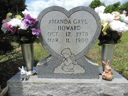 HOWARD, AMANDA GAYL - Pike County, Ohio | AMANDA GAYL HOWARD - Ohio Gravestone Photos