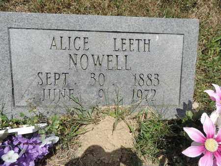 HOWELL, ALICE - Pike County, Ohio | ALICE HOWELL - Ohio Gravestone Photos