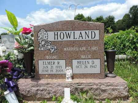 HOWLAND, ELMER R. - Pike County, Ohio | ELMER R. HOWLAND - Ohio Gravestone Photos