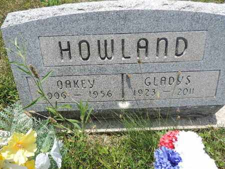 HOWLAND, GLADYS - Pike County, Ohio   GLADYS HOWLAND - Ohio Gravestone Photos