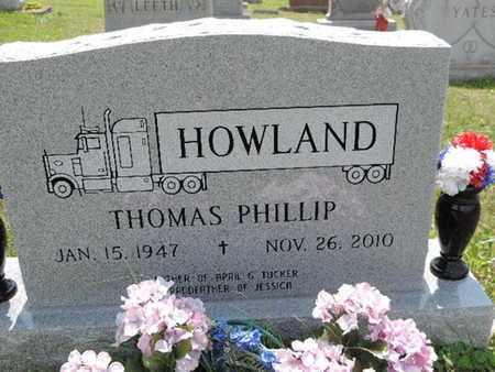 HOWLAND, THOMAS PHILLIP - Pike County, Ohio | THOMAS PHILLIP HOWLAND - Ohio Gravestone Photos