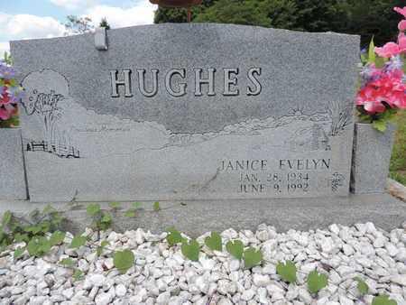 HUGHES, JANICE EVELYN - Pike County, Ohio   JANICE EVELYN HUGHES - Ohio Gravestone Photos