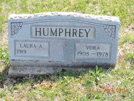 HUMPHREY, LAURA A - Pike County, Ohio | LAURA A HUMPHREY - Ohio Gravestone Photos