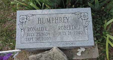HUMPHREY, RONALD L. - Pike County, Ohio | RONALD L. HUMPHREY - Ohio Gravestone Photos