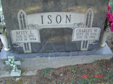 ISON, CHARLES M - Pike County, Ohio | CHARLES M ISON - Ohio Gravestone Photos