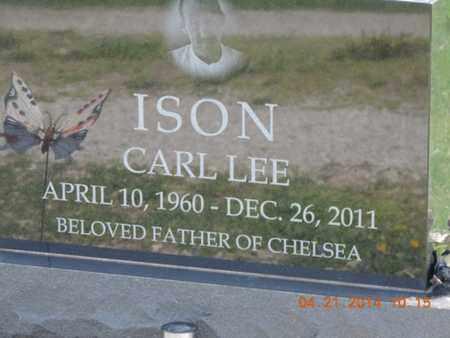 ISON, CARL LEE - Pike County, Ohio | CARL LEE ISON - Ohio Gravestone Photos