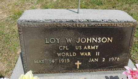 JOHNSON, LOY W. - Pike County, Ohio | LOY W. JOHNSON - Ohio Gravestone Photos