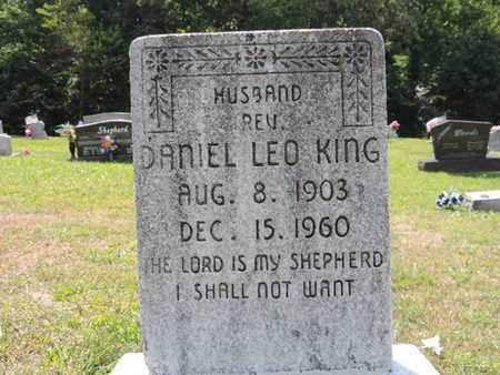 KING, DANIEL LEO - Pike County, Ohio | DANIEL LEO KING - Ohio Gravestone Photos