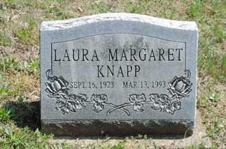 KNAPP, LAURA MARGARET - Pike County, Ohio   LAURA MARGARET KNAPP - Ohio Gravestone Photos