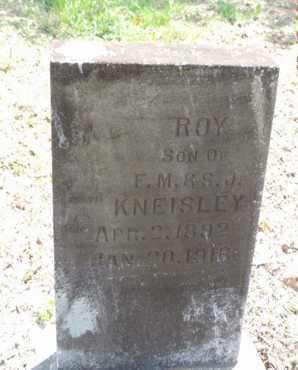 KNEISLEY, ROY - Pike County, Ohio | ROY KNEISLEY - Ohio Gravestone Photos