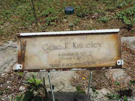 KNICELEY, GENE F. - Pike County, Ohio   GENE F. KNICELEY - Ohio Gravestone Photos
