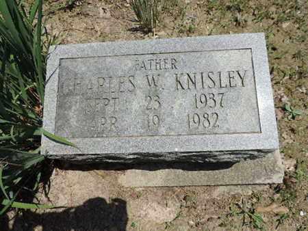 KNISLEY, CHARLES W. - Pike County, Ohio   CHARLES W. KNISLEY - Ohio Gravestone Photos