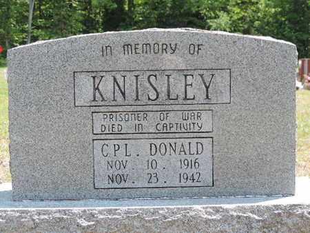 KNISLEY, DONALD - Pike County, Ohio   DONALD KNISLEY - Ohio Gravestone Photos