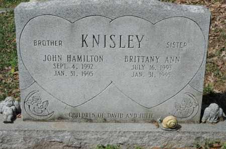 KNISLEY, BRITTANY ANN - Pike County, Ohio | BRITTANY ANN KNISLEY - Ohio Gravestone Photos