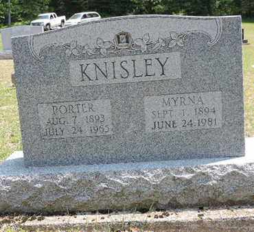 KNISLEY, PORTER - Pike County, Ohio | PORTER KNISLEY - Ohio Gravestone Photos