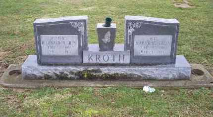 KROTH, MARJORIE ELLEN - Pike County, Ohio | MARJORIE ELLEN KROTH - Ohio Gravestone Photos