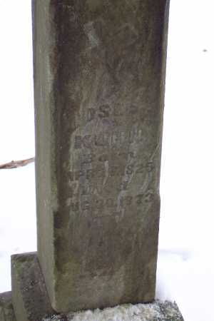 KUHN, JOSEPH J - Pike County, Ohio | JOSEPH J KUHN - Ohio Gravestone Photos