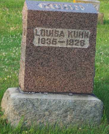 KIEBLER KUHN, LOUISA - Pike County, Ohio | LOUISA KIEBLER KUHN - Ohio Gravestone Photos