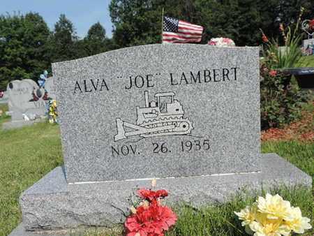 """LAMBERT, ALVA """"JOE"""" - Pike County, Ohio   ALVA """"JOE"""" LAMBERT - Ohio Gravestone Photos"""