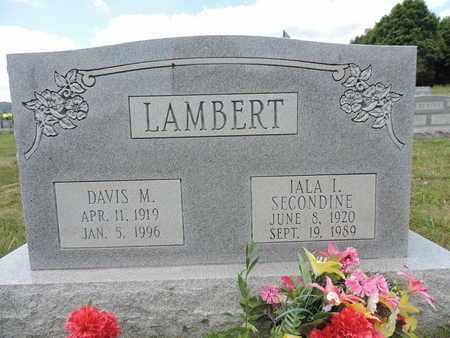 LAMBERT, DAVIS M. - Pike County, Ohio   DAVIS M. LAMBERT - Ohio Gravestone Photos