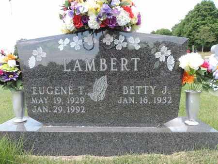 LAMBERT, EUGENE T. - Pike County, Ohio | EUGENE T. LAMBERT - Ohio Gravestone Photos