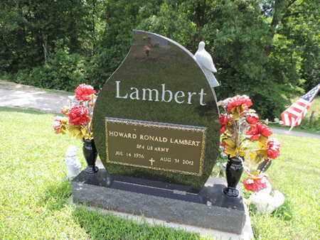 LAMBERT, HOWARD RONALD - Pike County, Ohio | HOWARD RONALD LAMBERT - Ohio Gravestone Photos