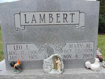 LAMBERT, MARY M. - Pike County, Ohio | MARY M. LAMBERT - Ohio Gravestone Photos