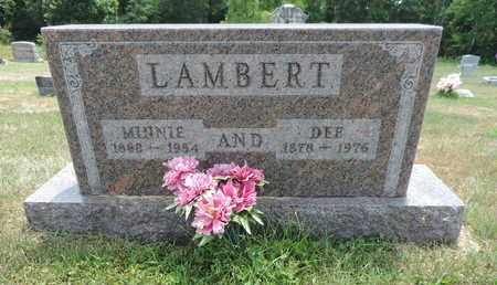 LAMBERT, DEE - Pike County, Ohio | DEE LAMBERT - Ohio Gravestone Photos