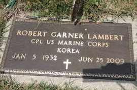 LAMBERT, ROBERT GARNER - Pike County, Ohio   ROBERT GARNER LAMBERT - Ohio Gravestone Photos