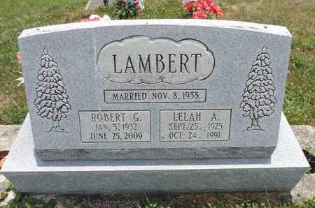 LAMBERT, ROBERT G - Pike County, Ohio | ROBERT G LAMBERT - Ohio Gravestone Photos
