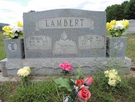 LAMBERT, THOMAS S. - Pike County, Ohio | THOMAS S. LAMBERT - Ohio Gravestone Photos