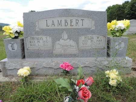 LAMBERT, HILDA W. - Pike County, Ohio | HILDA W. LAMBERT - Ohio Gravestone Photos