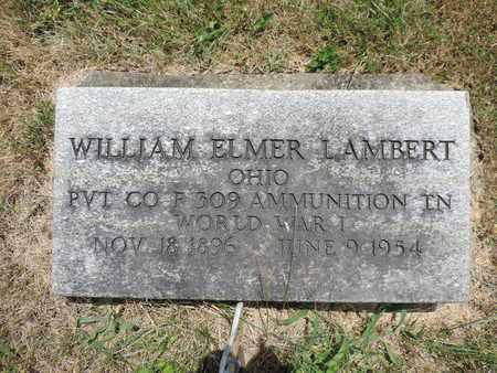 LAMBERT, WILLIAM ELMER - Pike County, Ohio | WILLIAM ELMER LAMBERT - Ohio Gravestone Photos