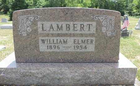 LAMBERT, WILLIAM ELMER - Pike County, Ohio   WILLIAM ELMER LAMBERT - Ohio Gravestone Photos